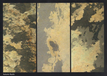 Flexible Schieferplatte 120 x 60 cm  Herbst Rustikal / Autumn Rustic