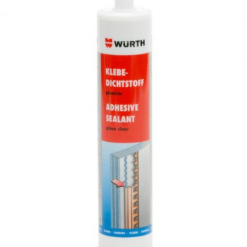 WUERTH Klebe-Dichtstoff glasklar Art. 08932250