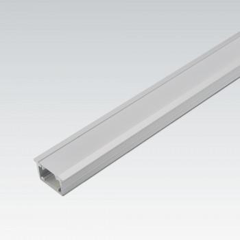 Aluminium-LED-Dekorprofil mit Kantenabdeckung 12,5 mm