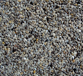Marmorkiesel Naturgrau fein 2 - 4  mit Bindemittel S317