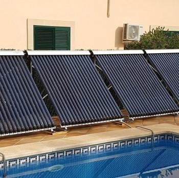 Hochleistung - Solarkollektor - Poolheizung - Set 5 KW