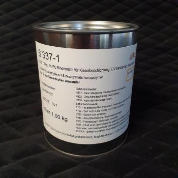 S337, 1 kg 1K PU Bindemittel, für Böden, lösemittel- und vergilbungsfrei, UV-beständig