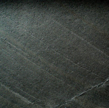 Flexible Schieferplatte Schwarze Linie / Black Line, ca. 20 x 30 cm, Musterplatte
