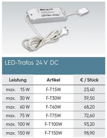 LED-Trafo 24 V DC 60 W