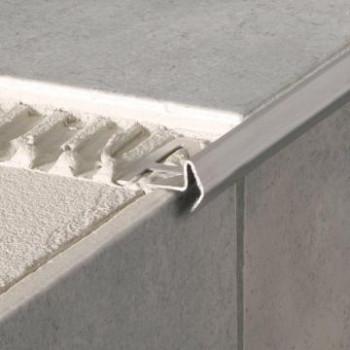 Treppenprofil Edelstahl Modern10 x 2500 mm