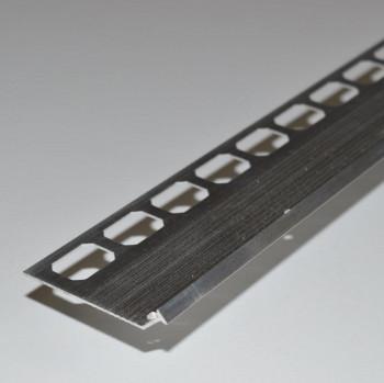 Treppenprofil Aluminium 45°, 8 x 2500 mm / 0805