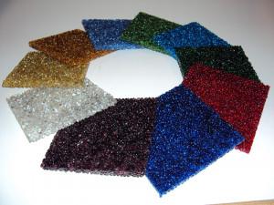 Musterset  Glaskieselplatten