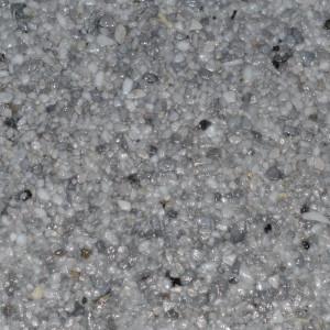 Marmorkiesel Musterplatte Delphingrau fein mit Porenfüller