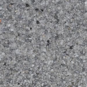Marmorkiesel Musterplatte Delphingrau fein matt