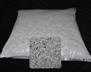 Marmorkiesel Brandung grob 5 - 10 mm