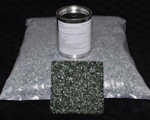 Marmorkieselgebinde Grün fein mit Bindemittel S317