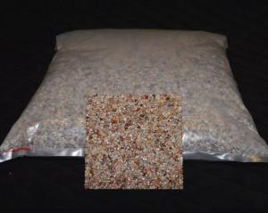 Marmorkiesel Koralle fein ( sehr selten )