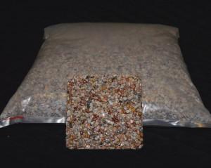 Marmorkiesel Koralle grob ( sehr selten )