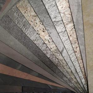 Flexible Schieferplatte Muster-Set 14 Platten 20 x 30 cm