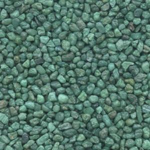 Colorquarz Patinagruen 2 - 3 mm für Steinteppich