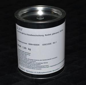 Das beste 1K PU Bindemittel S317, 1kg für Böden, Lösemittel- und vergilbungsfrei