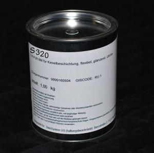 1K PU Bindemittel S320, 1kg für Böden, Lösemittel- und vergilbungsfrei