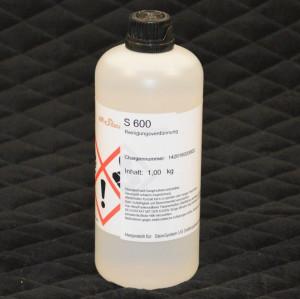 S600 Reiniger, 1 Liter Flasche, Ethylacetat UN 1173