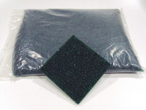 Glaskiesel Smaragd 2-8 mm