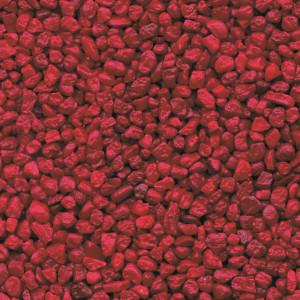 Colorquarz Verkehrsrot 2 - 3 mm für Steinteppich