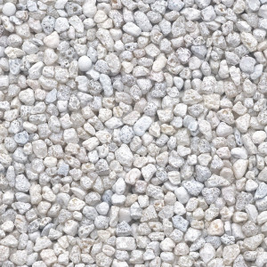 Colorquarz Weiss 2 - 3 mm für Steinteppich